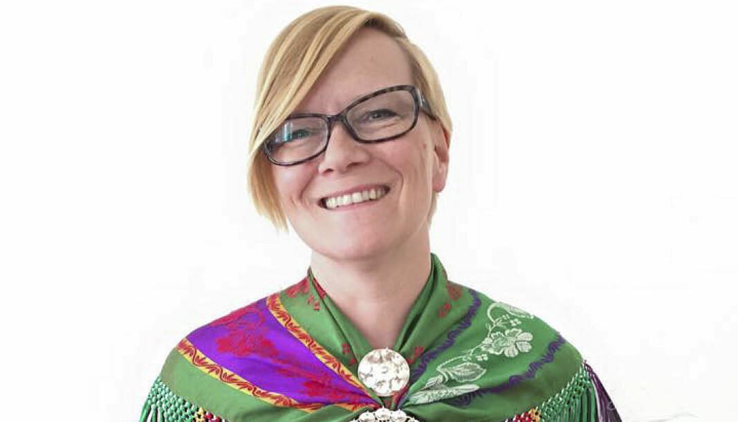 Mona Alette Solbakk, avtroppende direktør i NRK Sápmi.