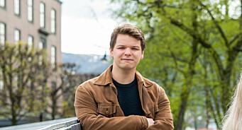 Aleksander Ramm (27) er ny daglig leder i Radio Nova