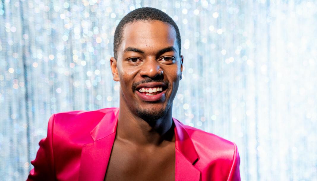 Nate Kahungu var en av deltagerne i «Skal vi danse» på TV 2 høsten 2020.