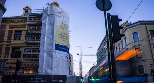 Tre nye smittet på Pressens hus-byggeplassen i Oslo