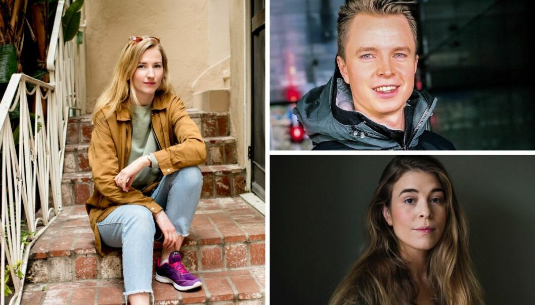 Klaudia Lech (30) er ansatt som redaktør for sosiale medier i Avisa Oslo. Erlend Vikene og Maud Lervik er også rekruttert til den nye Amedia-avisen. .