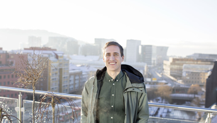 Ola Magnussen Rydje (33) er Dagens Næringslivs nye politiske reporter