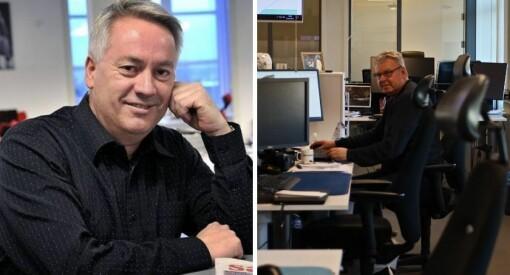 Disse to redaktørene er midt i mutant-lockdown. Slik rammes lokalavisene