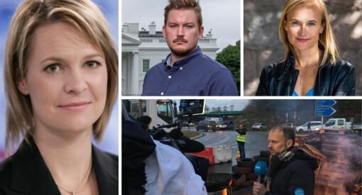Her er NRKs nye korrespondenter