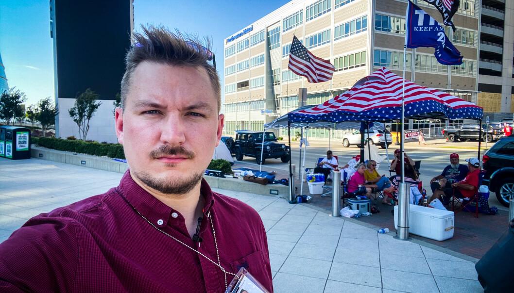 Lars Os blir NRKs korrespondent i Washington D.C. på heltid.