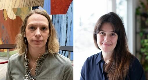 Arnhild Aass Kristiansen (42) og Birgitte Iversen (46) er nye Oslo-reportere for Aftenposten