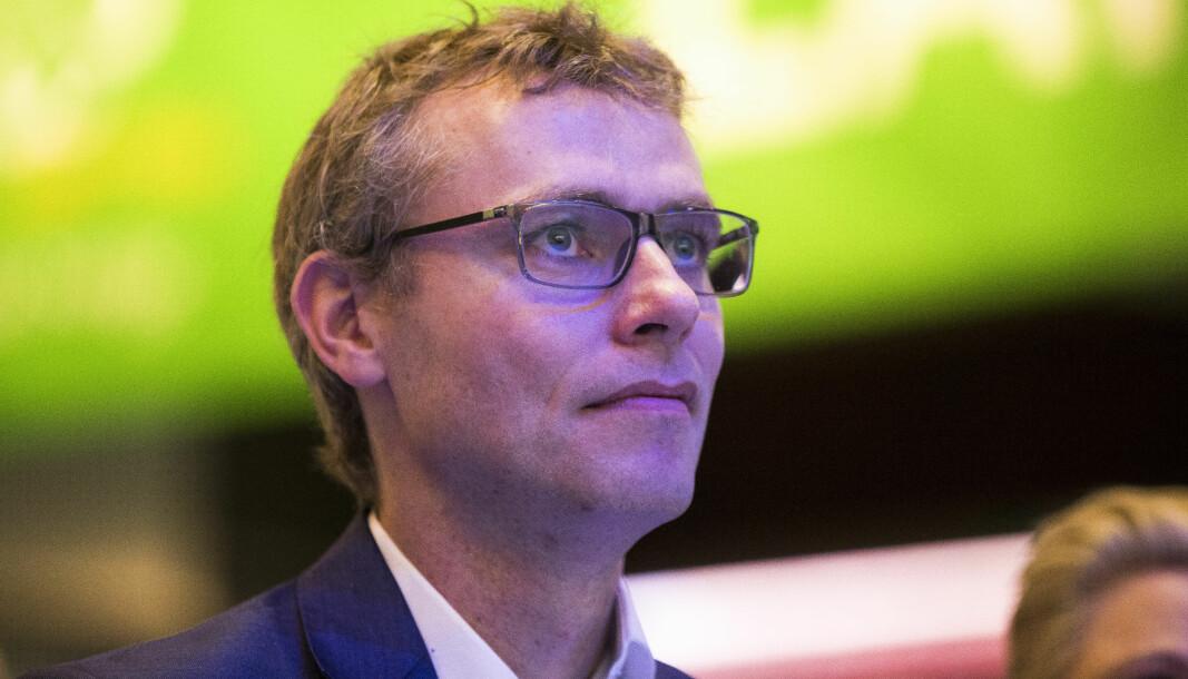 Nestleder i Senterpartiet, Ola Borten Moe.