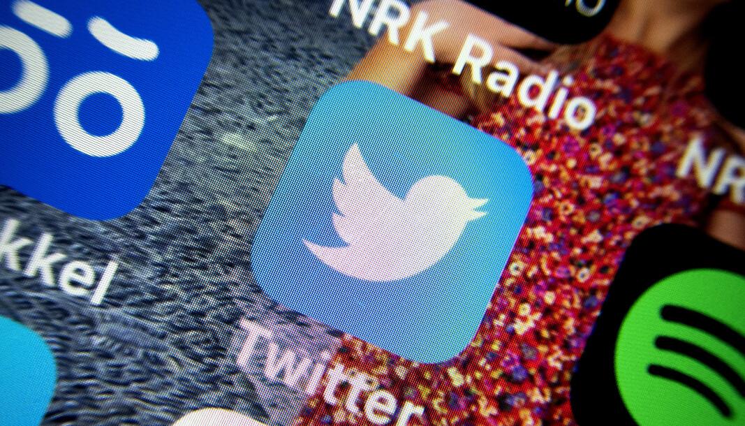 Illustrasjonsfoto: Twitter-appen.