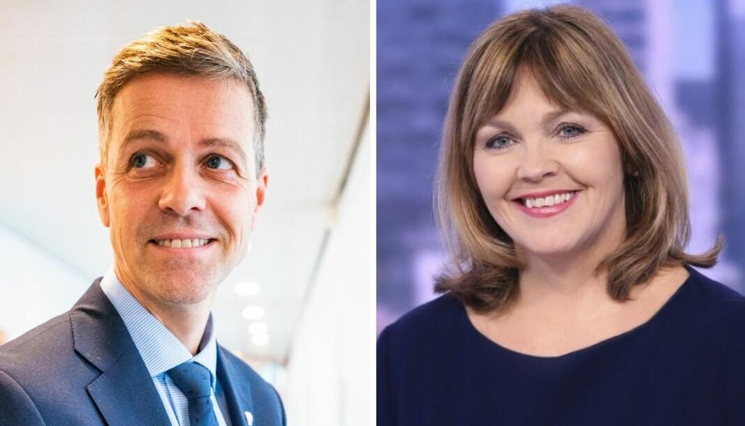 Samferdselsminister Knut Arild Hareide har sympati for NRKs Ingvild Bryn etter en mikrofontabbe på Dagsrevyen onsdag kveld.