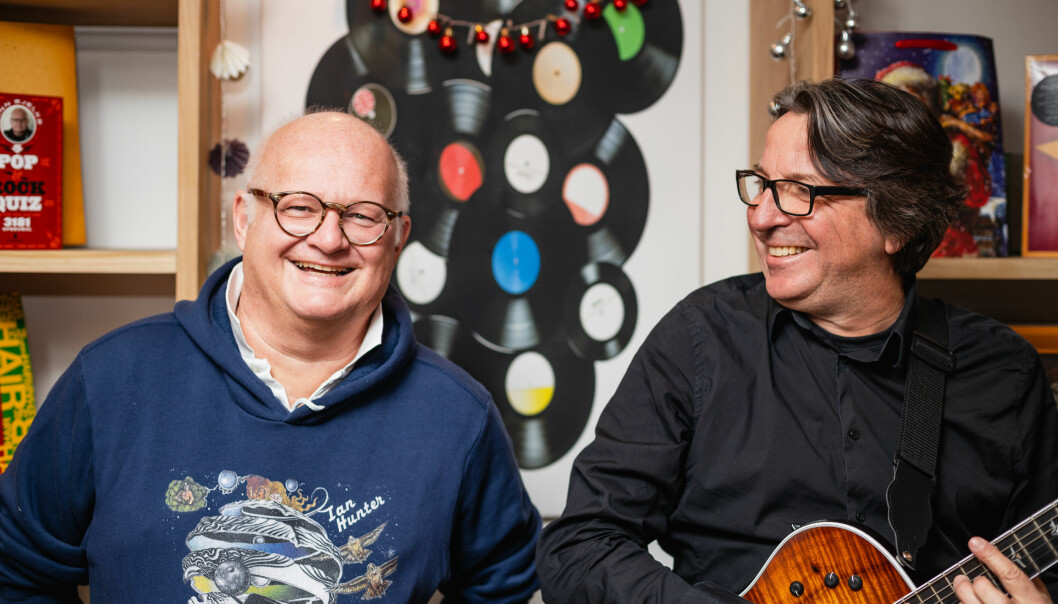 Finn Bjelke og Espen Beranek Holm