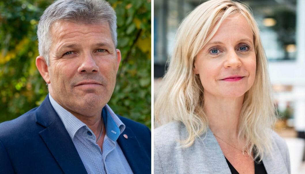 Arbeiderpartiets nestleder, Bjørnar Skjæran, ville ikke la seg intervjue av TV 2 og nyhetsredaktør Karianne Solbrækkes journalister.