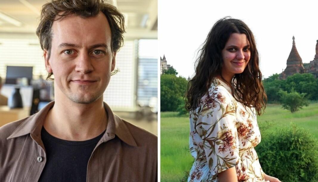 David Sviland (31) og Kristin Askjer Lien (27) har fått fast ansettelse i Vårt Land.