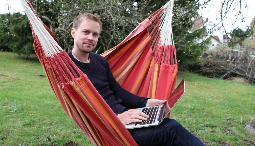 Redaktør og daglig leder i Nordre Aker Budstikke, Karl Andreas Kjelstrup.