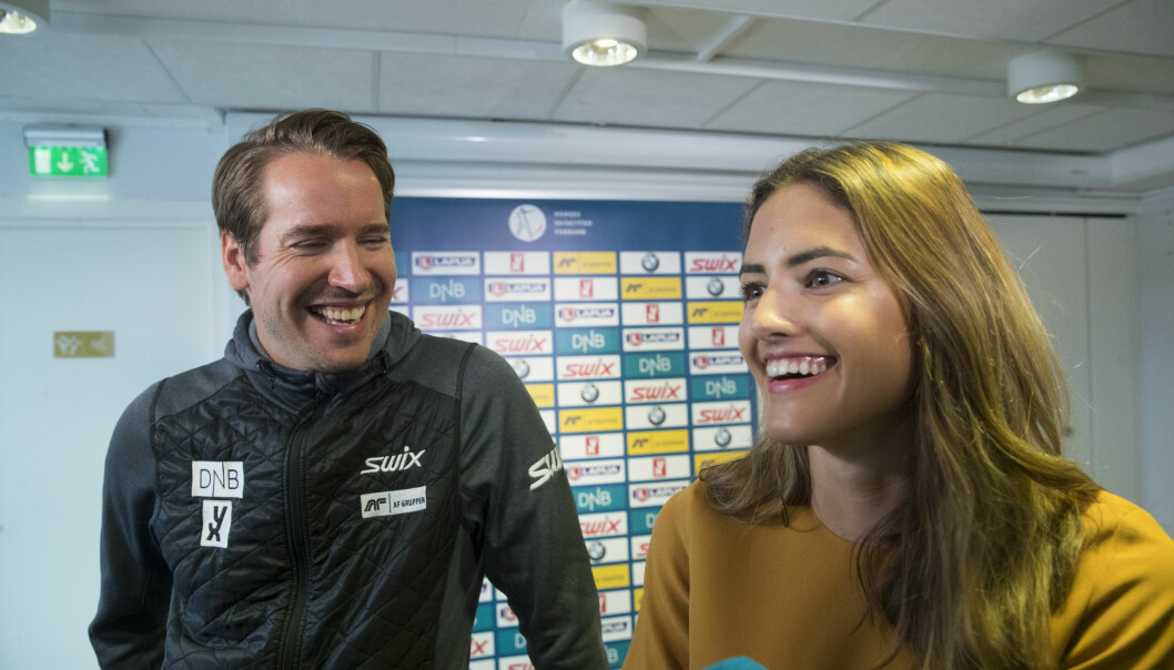 Samantha Skogrand blir sportsanker for NRK. I NRK-Sporten jobber også hennes forlovede, Emil Hegle Svendsen.
