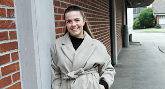 Sirill (23) begynte som vikar i avisa for to år siden. Nå blir hun ny sjefredaktør