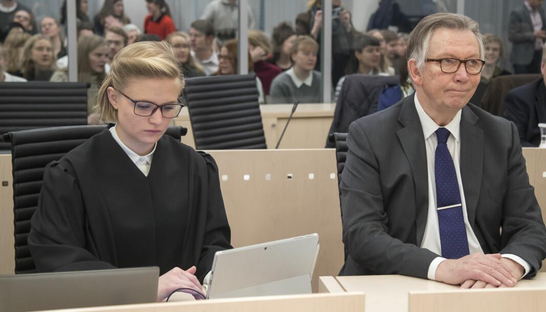 Regjeringsadvokat Ane Sydnes Egeland representerer Riksadvokaten i saken der VG nektes innsyn. Her er Egeland avbildet i Oslo tingrett ved en tidligere anledning.