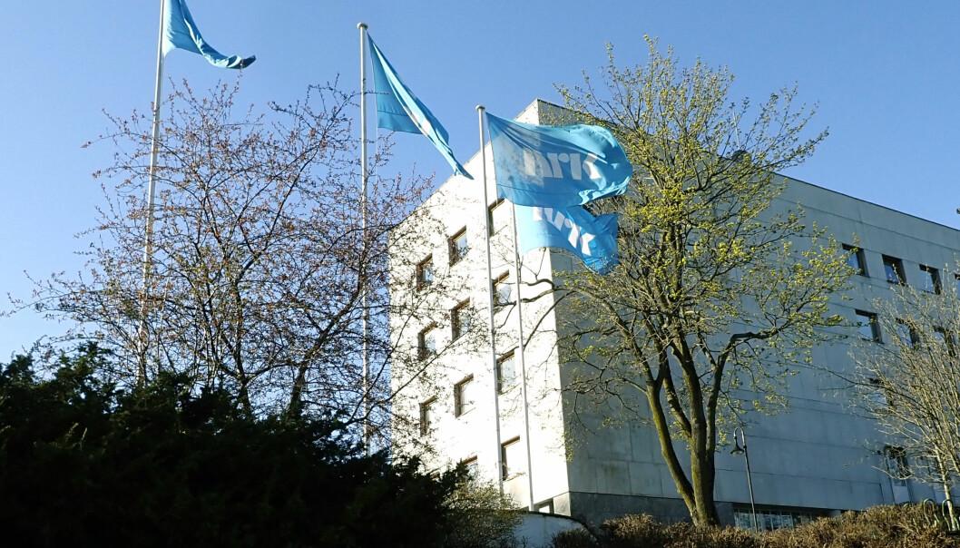 NRK-huset på Marienlyst i Oslo. Foto: Erik Johansen / NTB