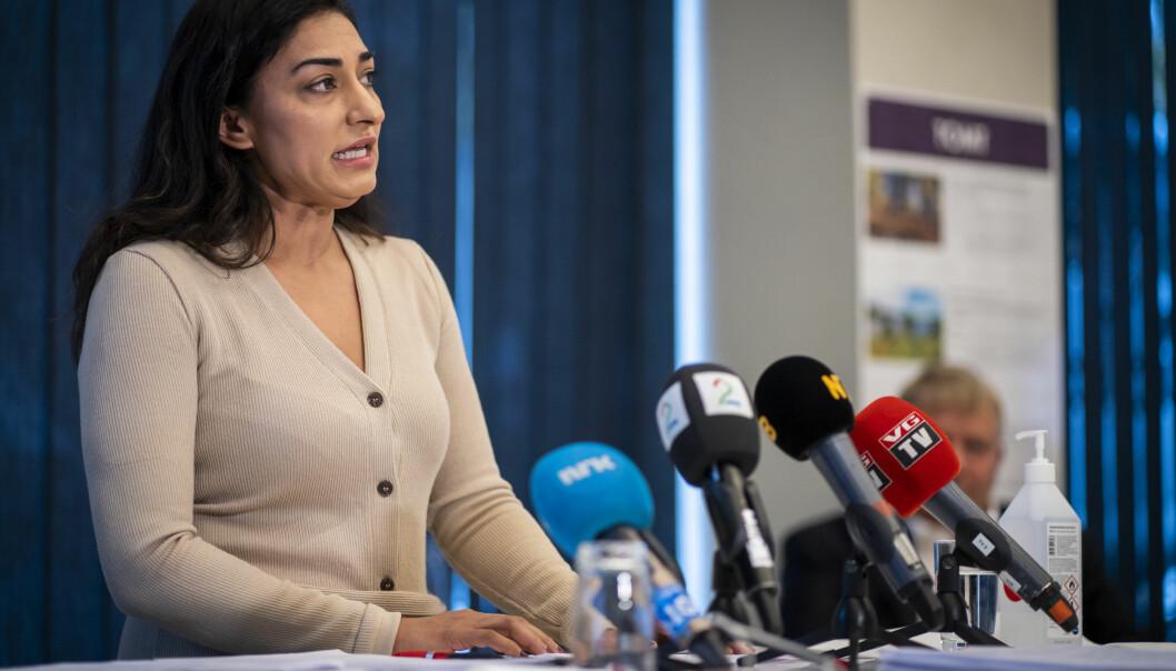 Shabana Rehmans klage i PFU mot Vårt Land endte ikke med fellelse. Foto: Heiko Junge / NTB