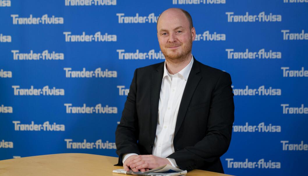Trønder-Avisas nye sjef, Sivert Rossing.