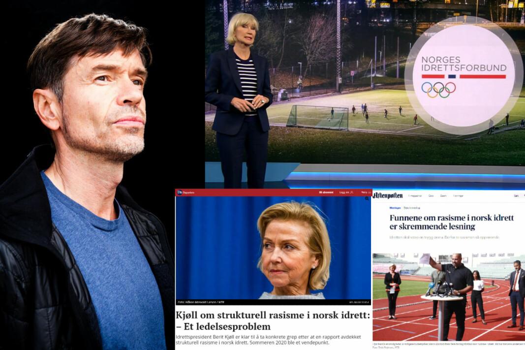 Kjetil Rolness. Innfelt: Dagsavisen, Dagsrevyen og Aftenposten