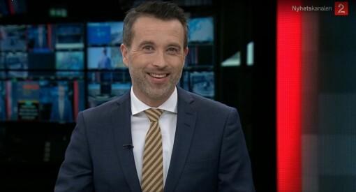 God morgen Norge-Peter (45) blir nyhetsanker