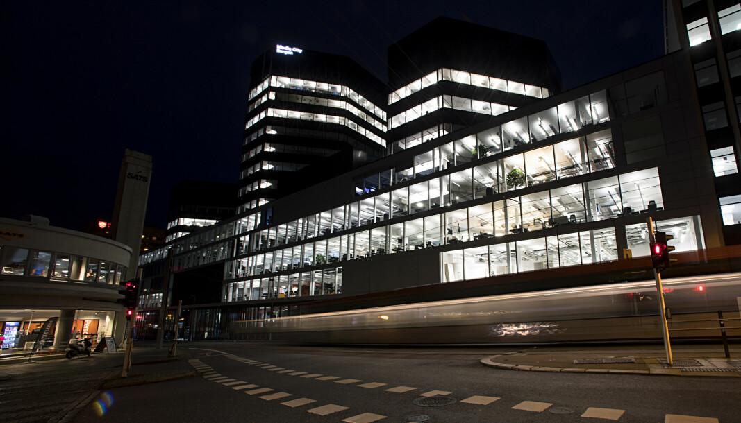 Media City Bergen, der NRK Vestland i Bergen holder hus.