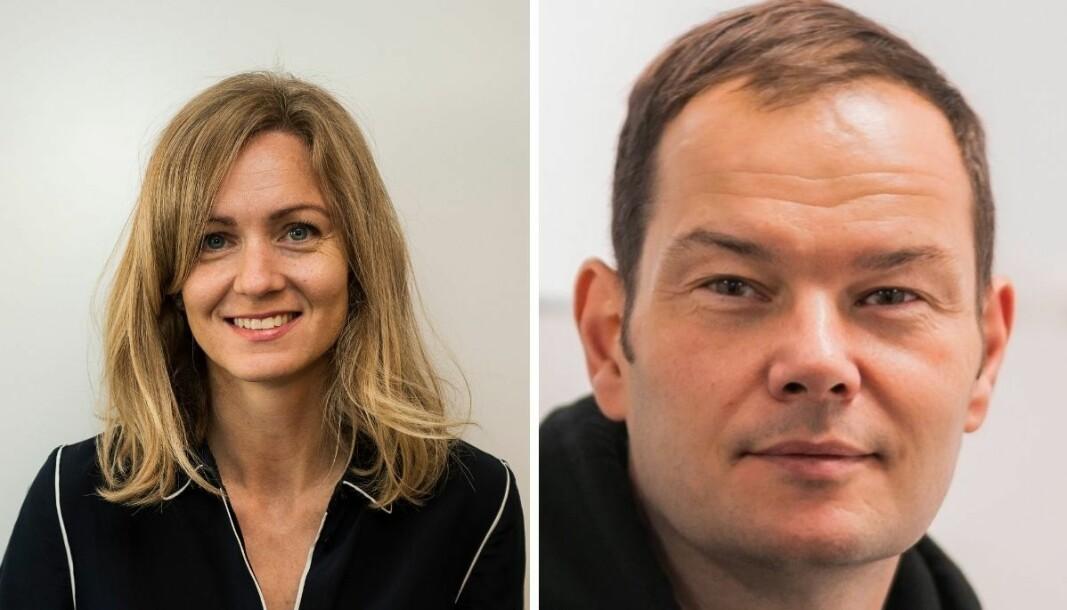 Inger Merete Hobbelstad (til venstre) svarer på Jon Martin Larsens debattinnlegg.
