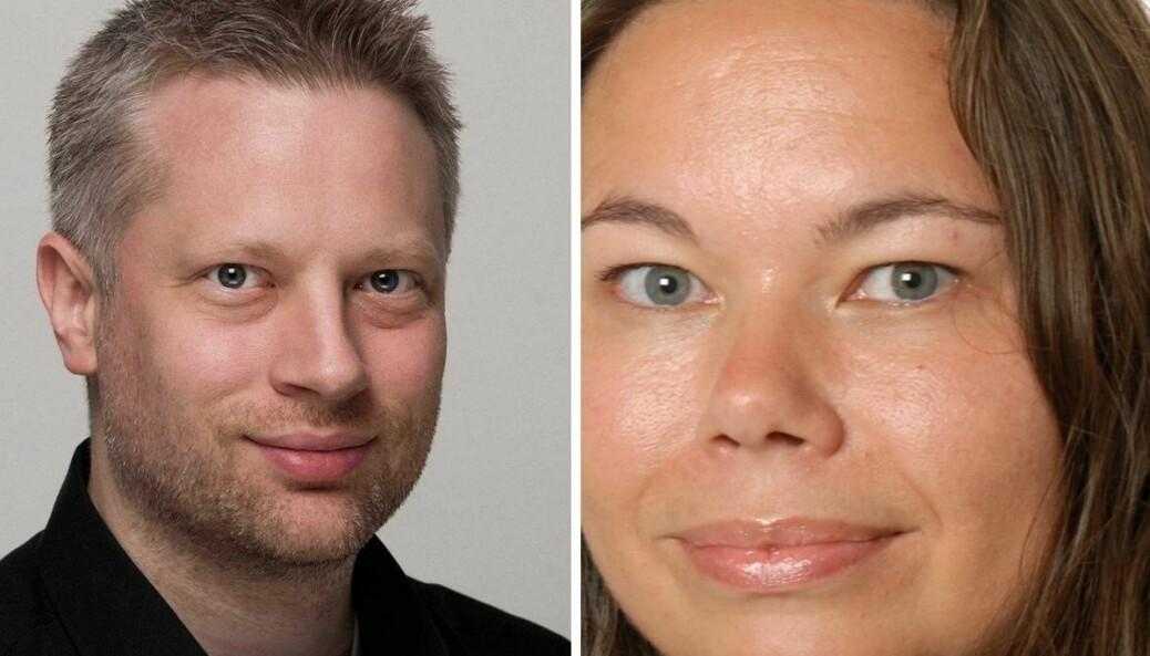 Redaktør i Digi.no, Ida Marie Johanne Oftebro, og journalist Are Thunes Samsonsen.