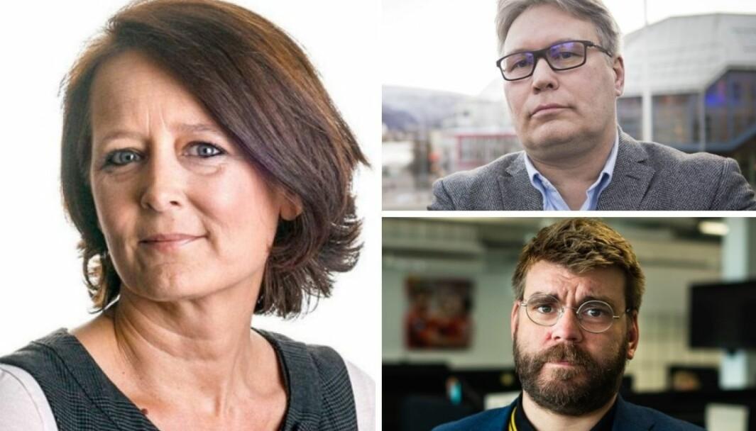 Kommentator Eva Grinde er lite imponert av redaktør Sigvald Sveinbjørnsson og politisk