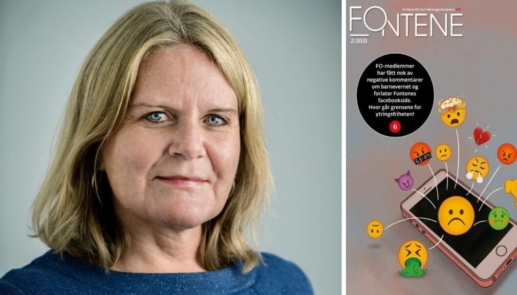 Solfrid Rød, ansvarlig redaktør for fagbladet Fontene.