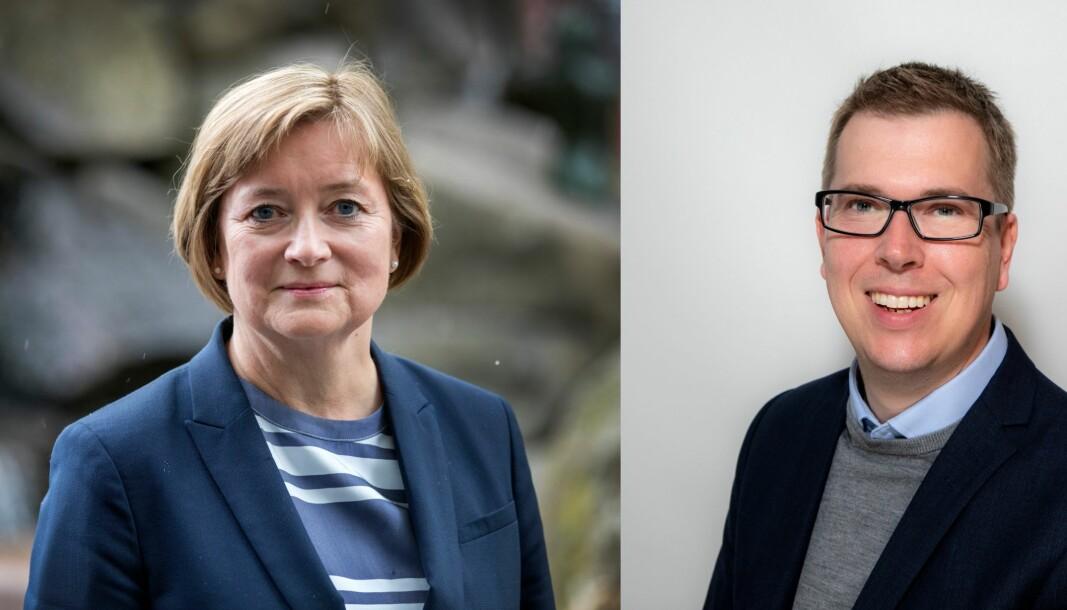 Styreleder Hanna Relling Berg og nestleder Eirik Hoff Lysholm i Norsk Redaktørforening er klar på at åpenhetskampen er langt fra over.