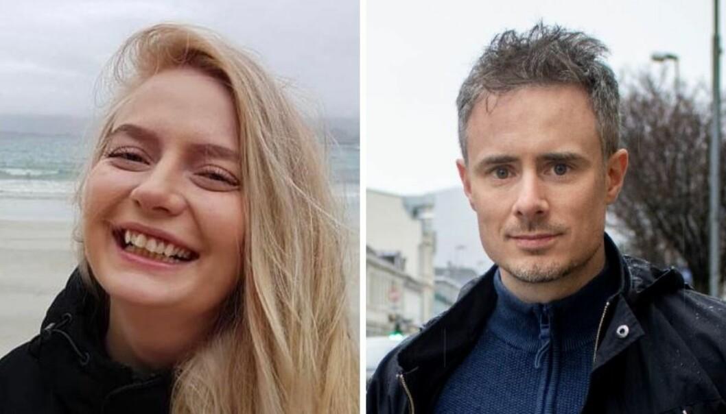 Synne Mauseth og Stian Hansen er ansatt i Polaris-satsingen Midtnorsk Næringsliv.