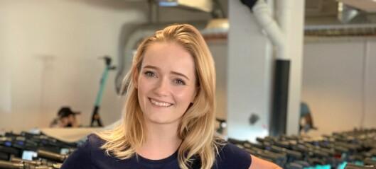 Julia Sandstø skal jobbe med bærekraft og elsparkesykler