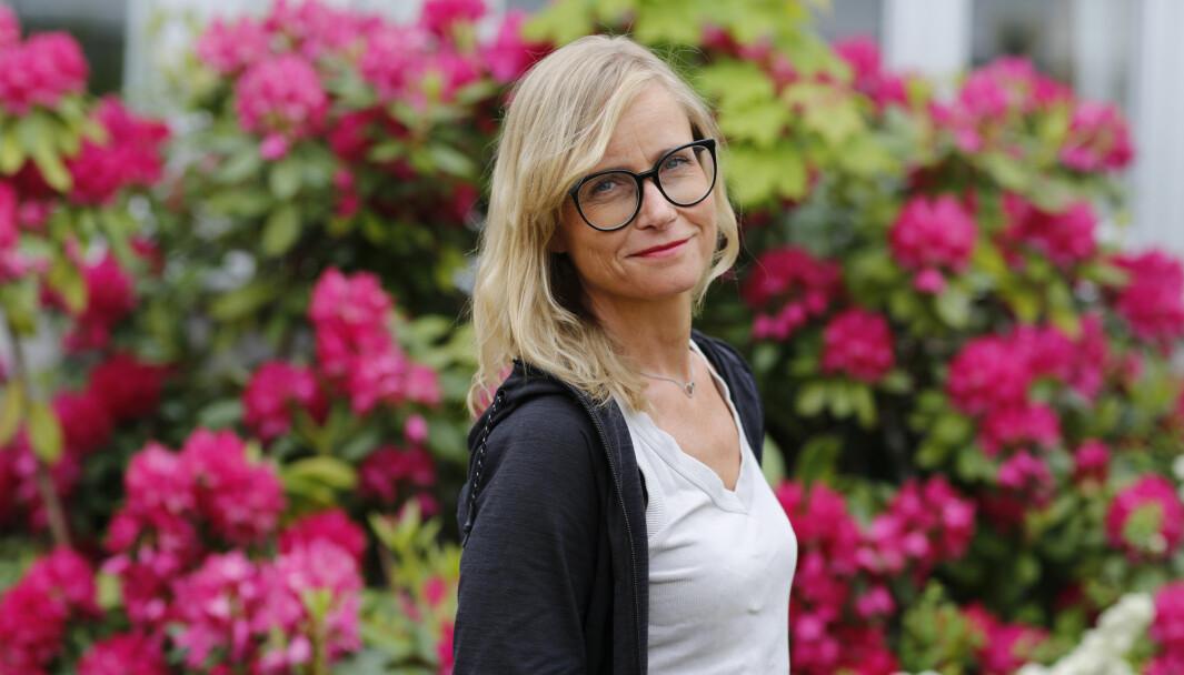 Adresseavisens nye graveansvarlig, Lajla Ellingsen.