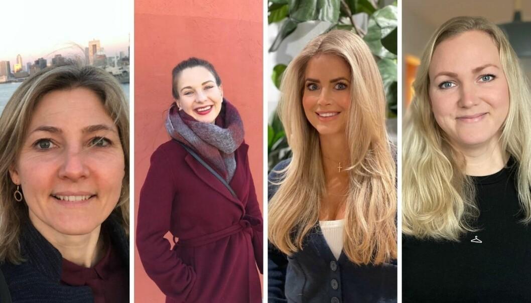 Martine Røiseland, Karina Rydningen Torberntsson, Maren Wilberg Rostad og Tiril Vik Nordeide er nye journalister i Avisa Oslo