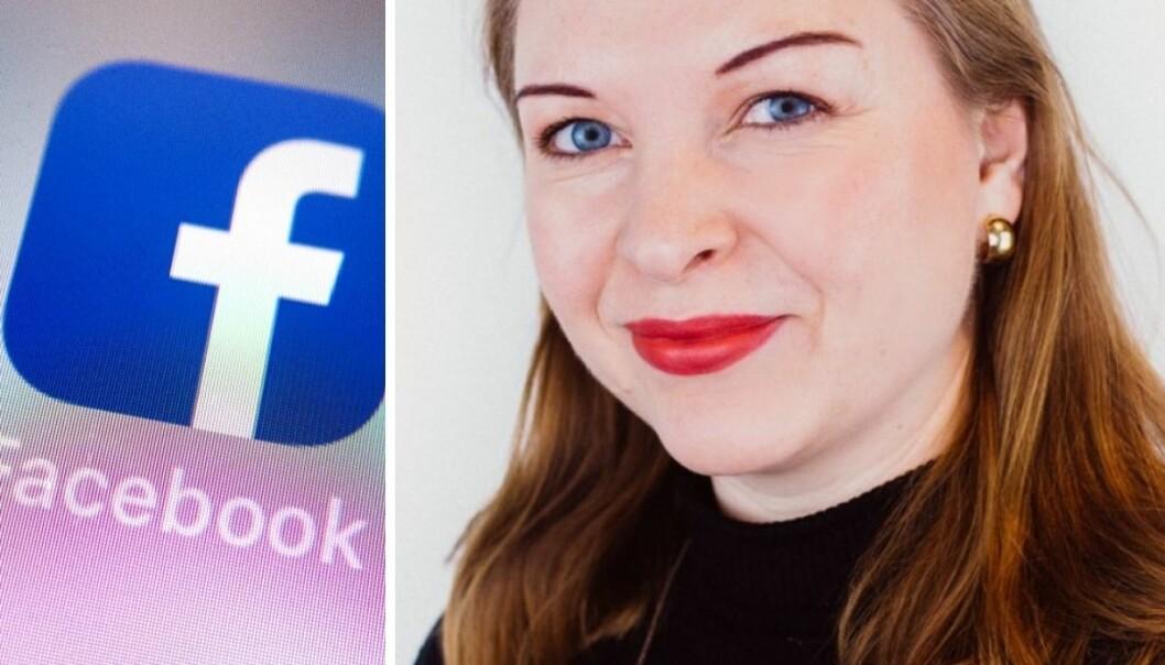 Facebooks «Head of News Partnership» i Nord-Europa, Sarah Brown.