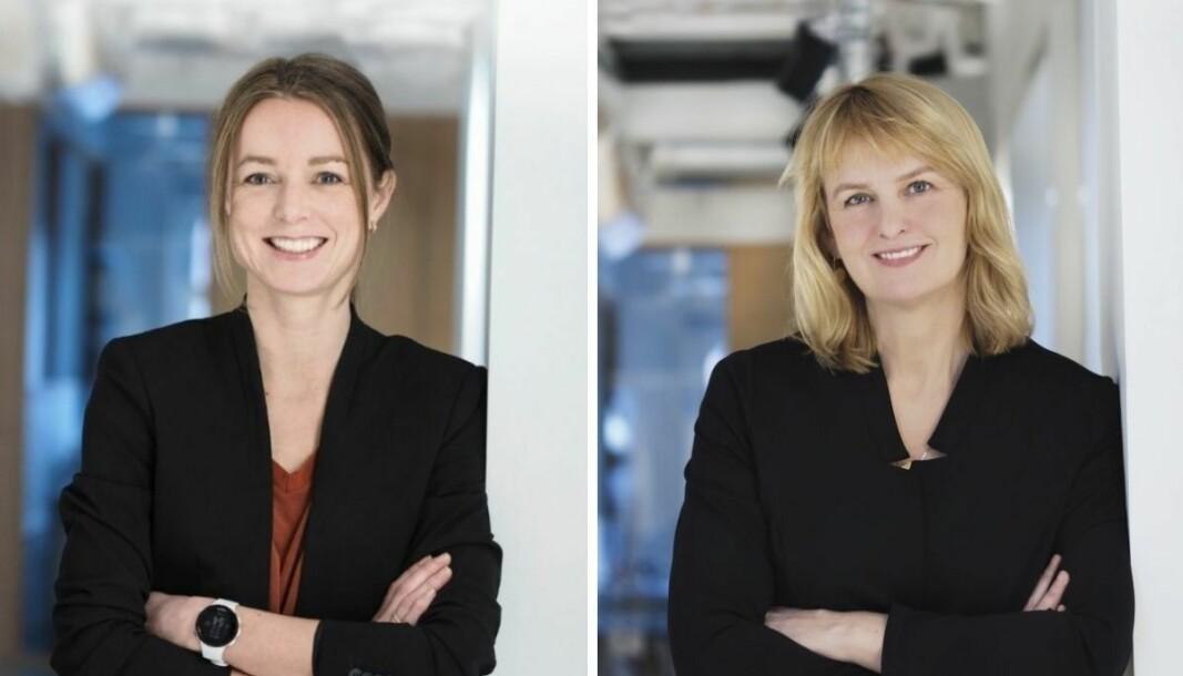 Innsikts- og analyseansvarlig i MBL, Bente Håvimb, og Randi S. Øgrey, adm. dir i MBL.