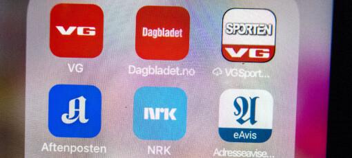 Ny opplagsrekord for norske aviser: Nå er flest abonnement heldigitale