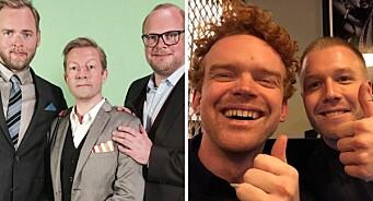 Bekreftet: Radioresepsjonen-trioen til Schibsted - får med seg Herman Flesvig og Mikkel Niva