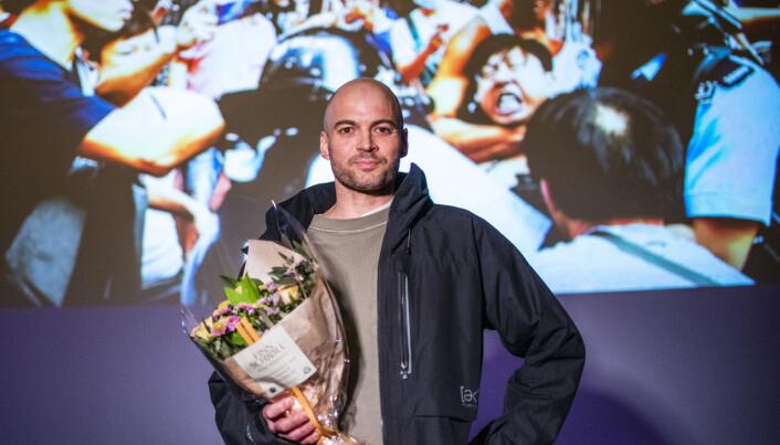 Oscar-nominerte Anders Sømme Hammer knakk nesa under opptak: – Privilegert