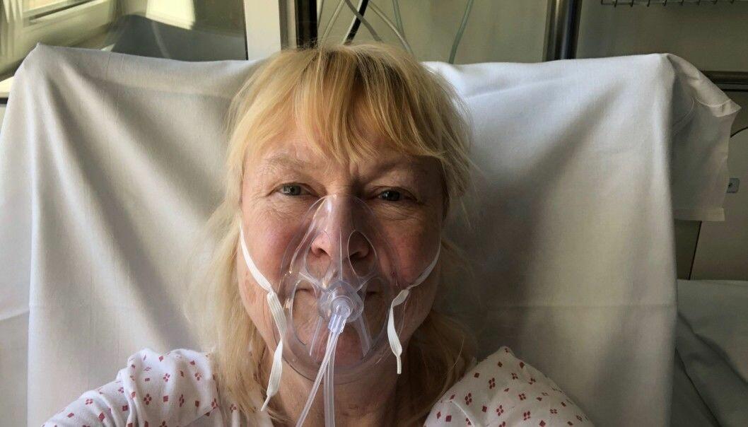 Marianne Rustad Carlsen ble liggende 27 dager med oksygenmaske og kjempe mot koronaviruset