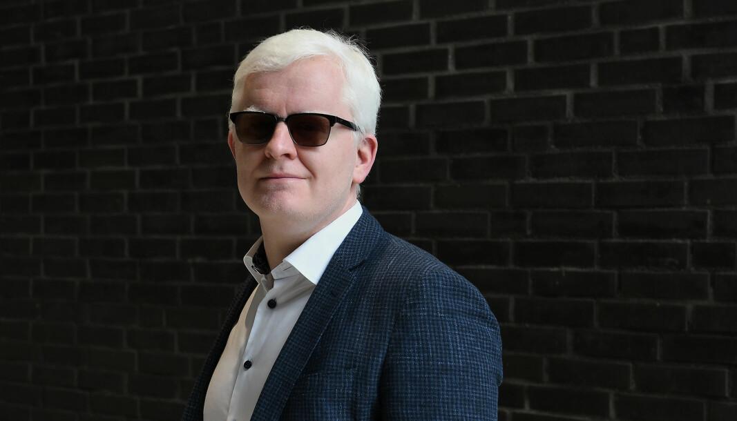 Leder av Norsk Journalistlag, Dag Idar Tryggestad.
