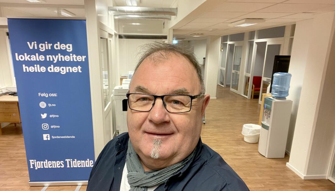 Erling Wåge har jobbet i avisen siden 1987.
