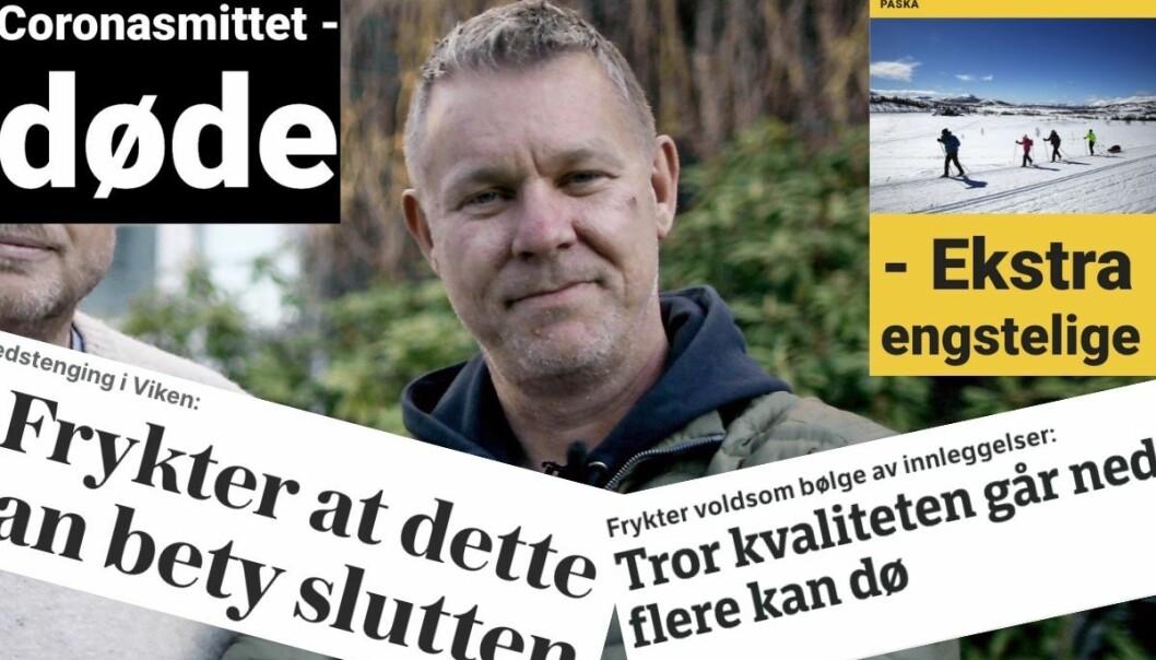 Daglig leder i Novemberfilm Kjetil Johnsen er lei av dårlige nyheter.