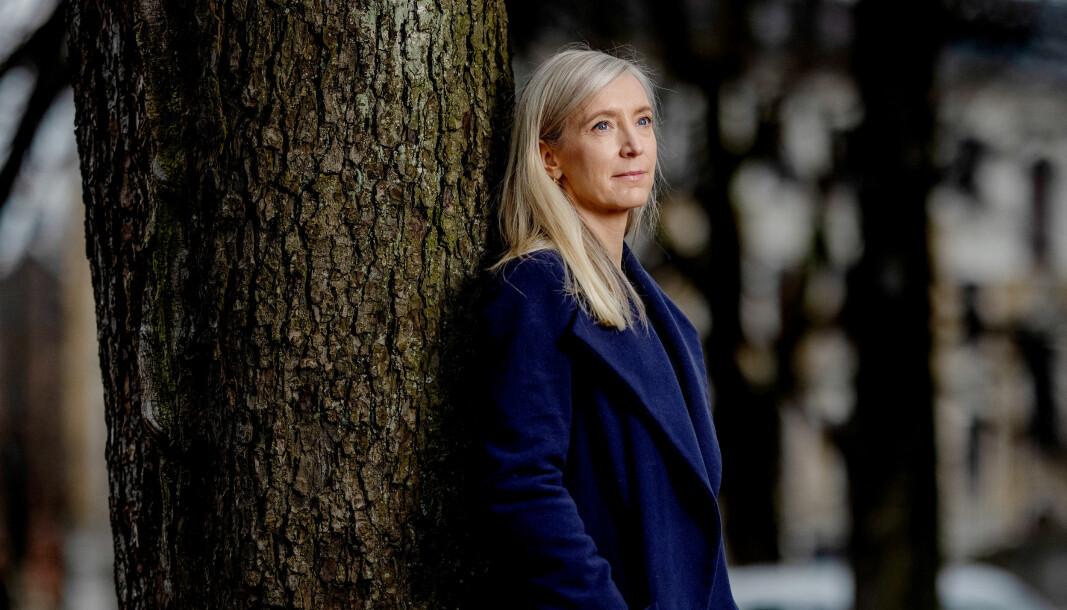 Yvonne Fondenes innrømmer at det vanskelig å åpne opp om traumene fra barndommen.