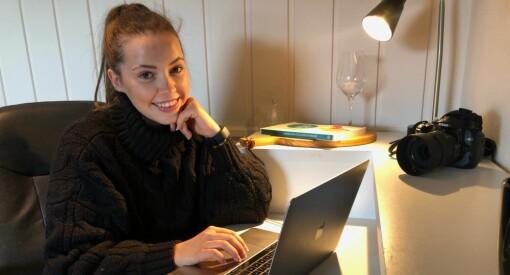 Stine Bækkelien (23) er ansatt som ny journalist i Valdres