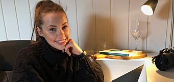 Stine (23) er ansatt som ny journalist i Valdres