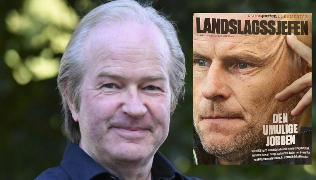 VG-journalist Knut Espen «Svea» Svegaarden har skrevet en tekst på hele 32 sider om trenerne til Norges herrelandslag i fotball.