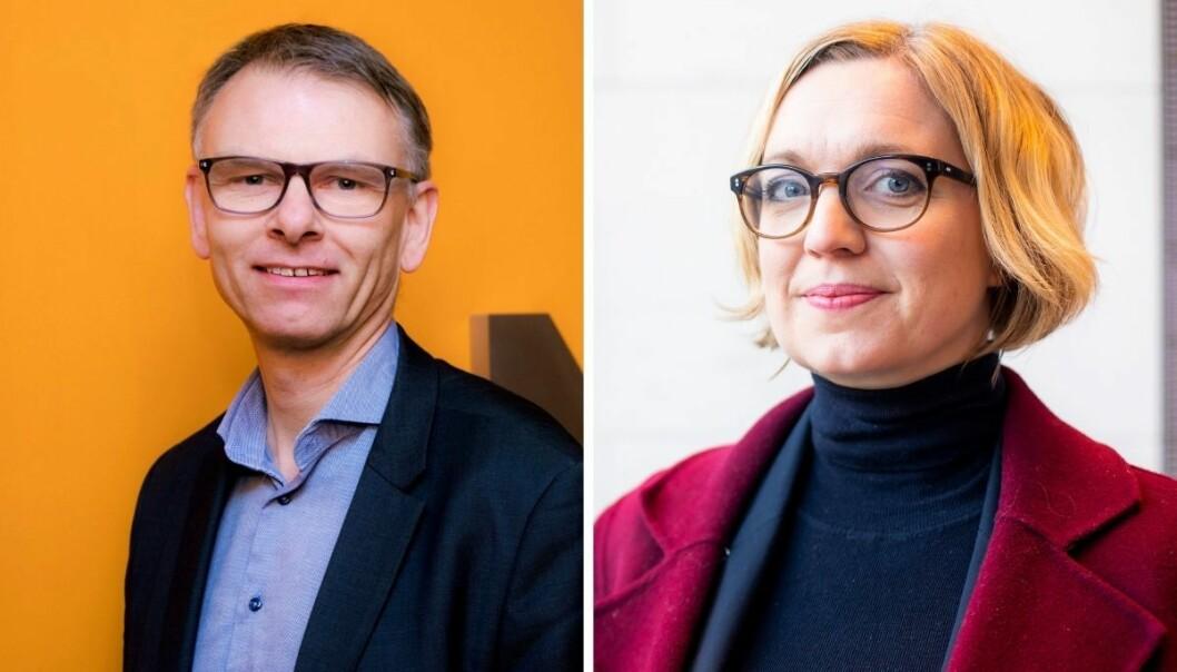 Ole Kristian Bjellaanes og Sarah Sørheim.