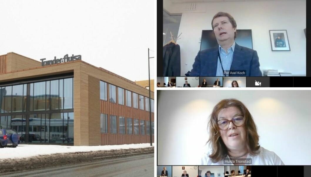 Både konsernsjef i Polaris Media, Per Axel Koch og styreleder i LL Inntrøndelagen, Hulda Tronstad, forklarte seg i retten onsdag.